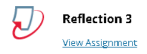 Title of an assignment displayed with the Turnitin logo next to it.